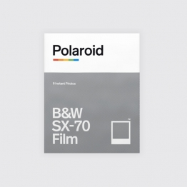 Portada Polaroid B&W SX-70 Film