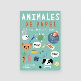 Portada Libro Animales de papel para montar y jugar