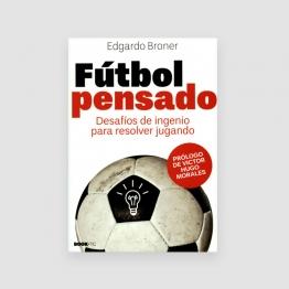 Portada Libro Fútbol pensado: desafíos de ingenio para resolver jugando