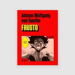 Portada libro Fausto: el manga