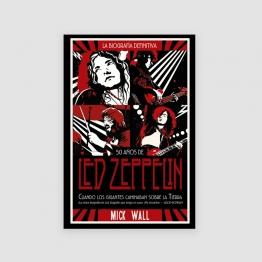 Portada Libro Led Zeppelin: Cuando los gigantes caminaban sobre la tierra