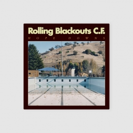 Rolling Blackouts Coastal Fever - Hope downs album cover