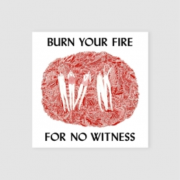 Portada Vinilo - Burn your fire for no witness