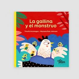 Portada libro - La gallina y el monstruo