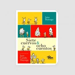 Portada libro - Siete cuervos y ocho cuentos