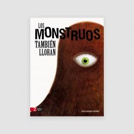 Portada libro - Los monstruos también llorar