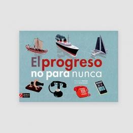 Portada libro - El progreso no para nunca