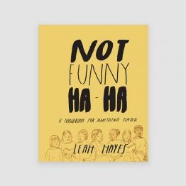 Portada Libro Not Funny Ha-Ha