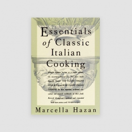 Portada Libro Essentials of Classic Italian Cooking