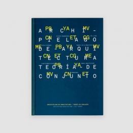 Portada Libro Archipiélago de Arquitectura / Teoría de conjunto