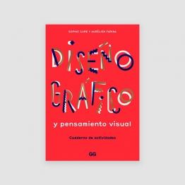 Portada Libro Diseño gráfico y pensamiento visual. Cuaderno de actividades