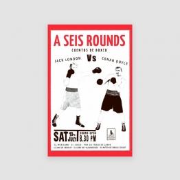 Portada Libro A seis rounds