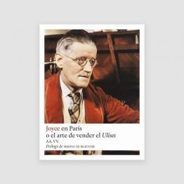 Portada Libro Joyce en París o el arte de vender el Ulises