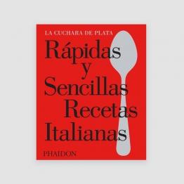 Portada Libro Rápidas y sencillas recetas italianas