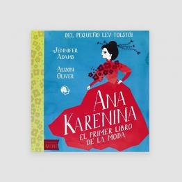 Portada Libro Ana Karenina: el primer libro de moda