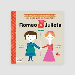 Portada Libro Romeo y Julieta: mi primer libro de números