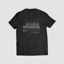 Camiseta hombre talla S - MC275 negra