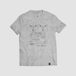 Camiseta hombre talla L - GX747 gris