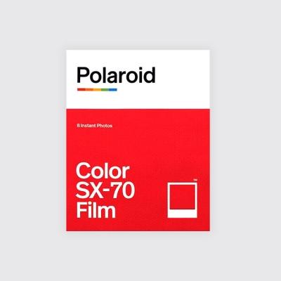 Portada Polaroid Color SX-70 Film