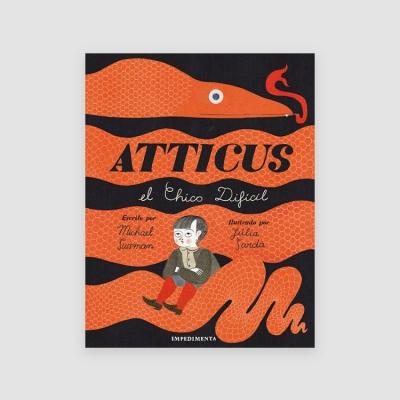 Portada Libro Atticus el chico difícil