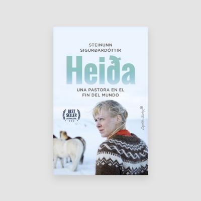 Portada Libro Heida: Una pastora en el fin del mundo