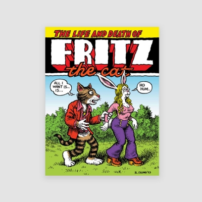 Portada Libro The Life and Death of Fritz the Cat