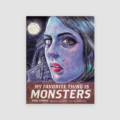 Portada Libro My Favorite Thing Is Monsters