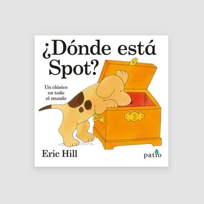 Portada Libro ¿Dónde está Spot?