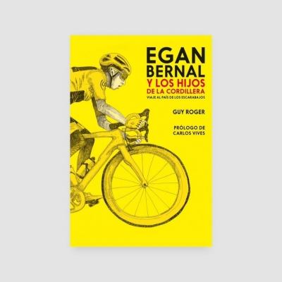 Portada Libro Egan Bernal y los hijos de la cordillera