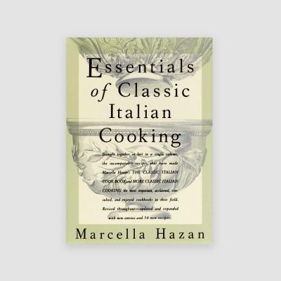 Portada Libro Essentials of Classic Italian Cooking