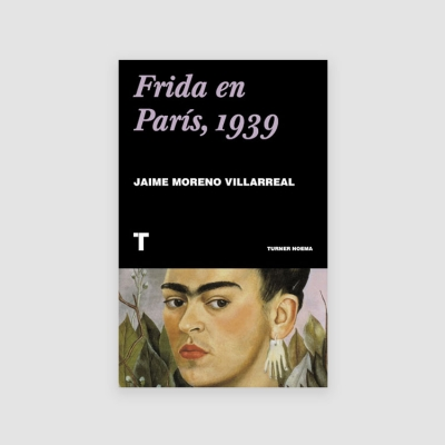 Portada Libro Frida en París, 1939