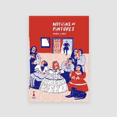 Portada Libro Noticias de pintores