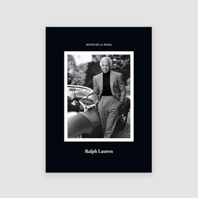 Portada Libro Ralph Lauren, Mitos de la moda