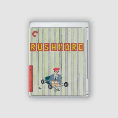 Rushmore Blu Ray cover