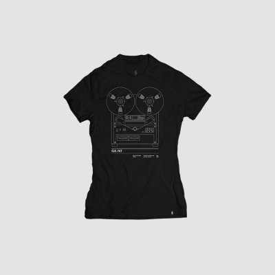 Camiseta mujer talla S - GX747 negra