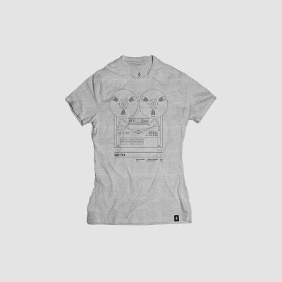 Camiseta mujer talla M - GX747 gris