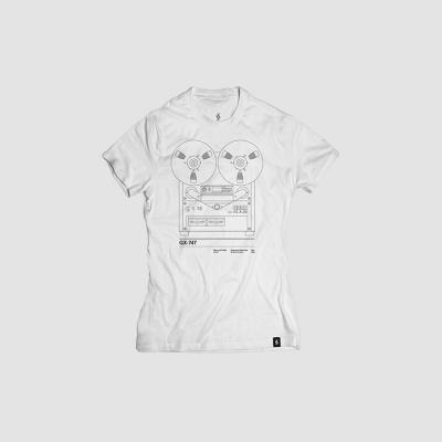 Camiseta mujer talla M - GX747 blanca