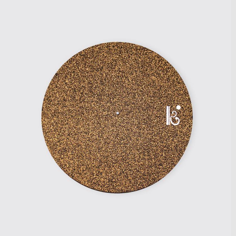 Portada Key Accesories Deluxe Record Mat Corcho-Caucho 3mm
