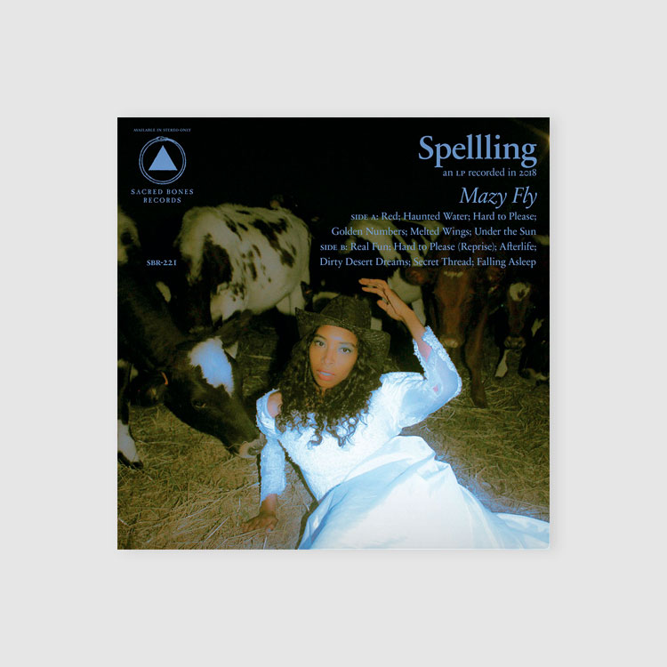 Album cover - Spelling, by Mazy Fly