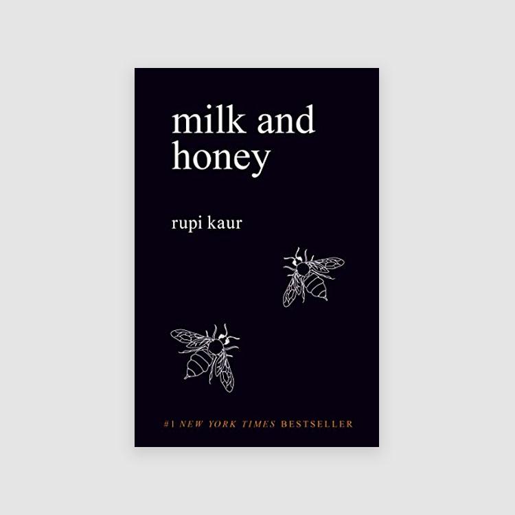Portada libro - Milk and Honey