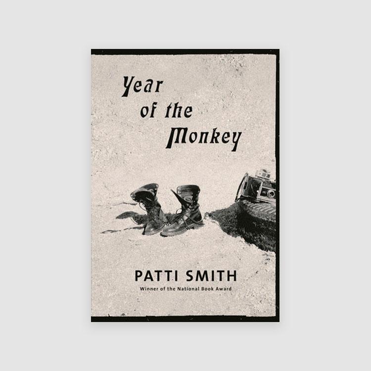 Portada libro - Year of the monkey, por Patti Smith