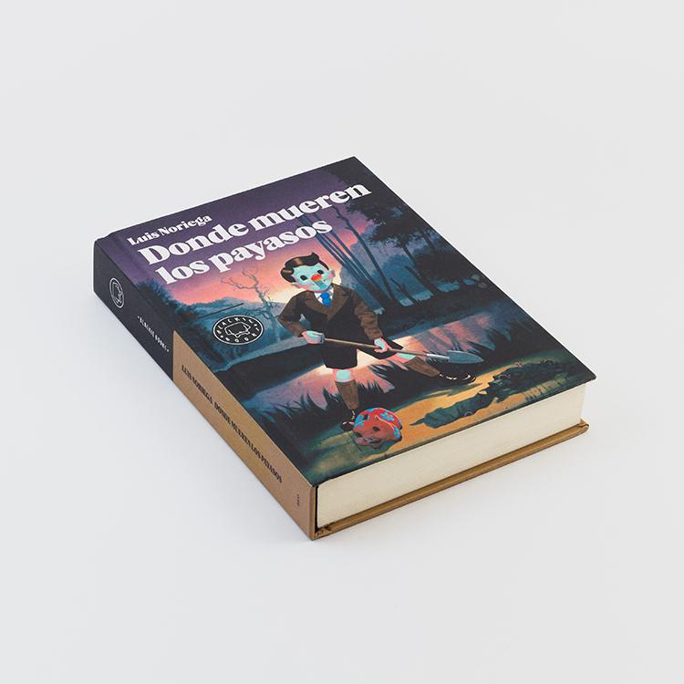 Portada Donde mueren los payasos - Versión Blackie Books