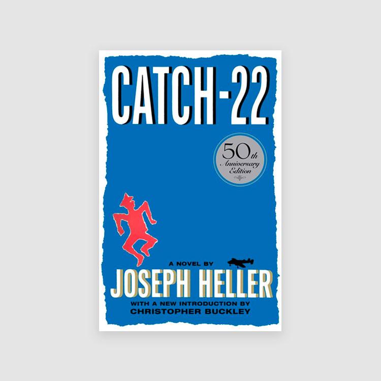 Portada libro CATCH-22