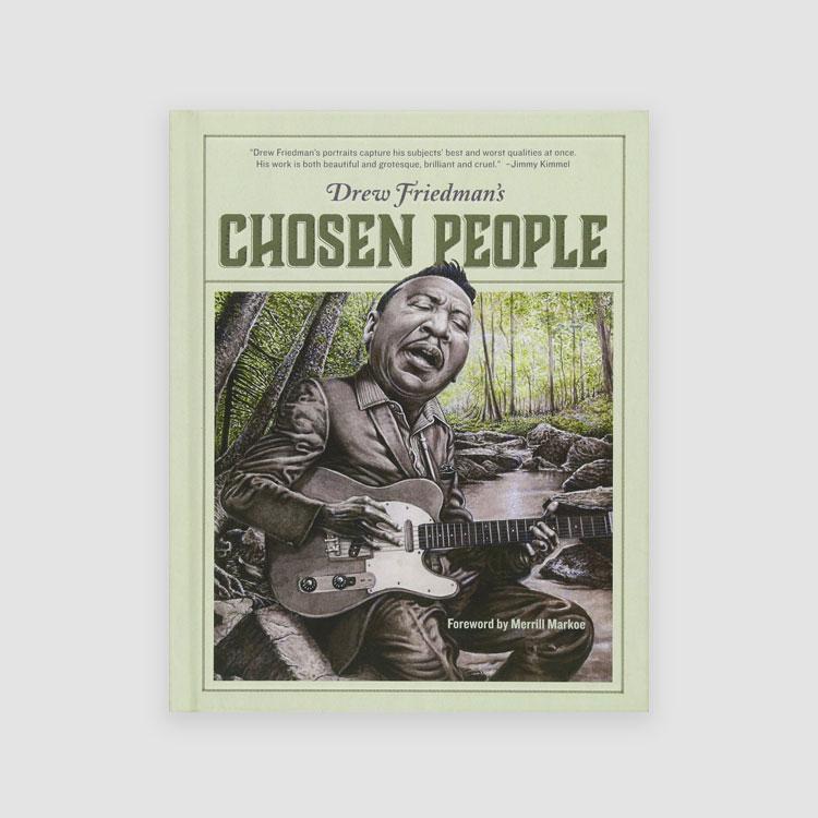 Portada Libro Drew Friedman's Chosen People