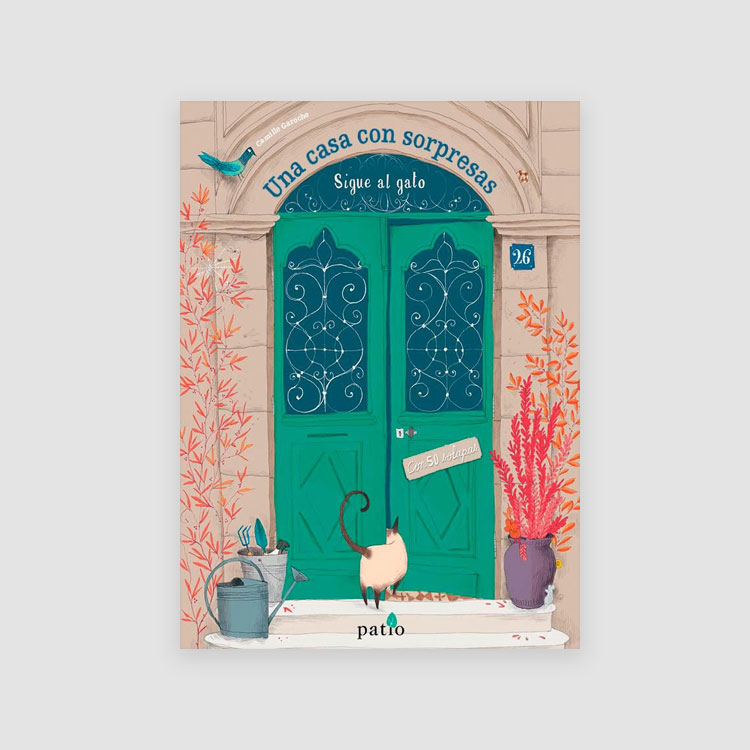 Portada Libro Una casa con sorpresas