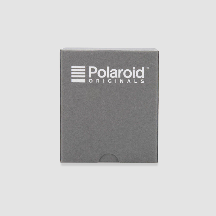 Polaroid photo box back view