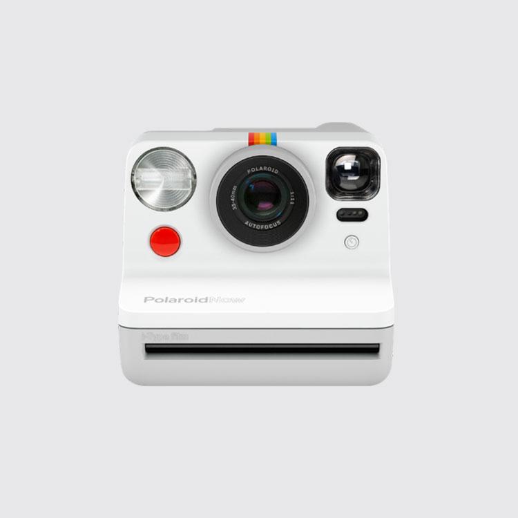 Frente Cámara Polaroid Now - White