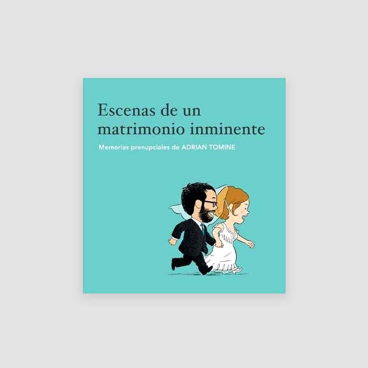 Portada Libro Escenas de un matrimonio inminente