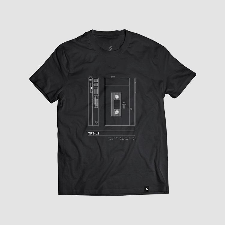 Camiseta hombre talla S - TPSL2 negra