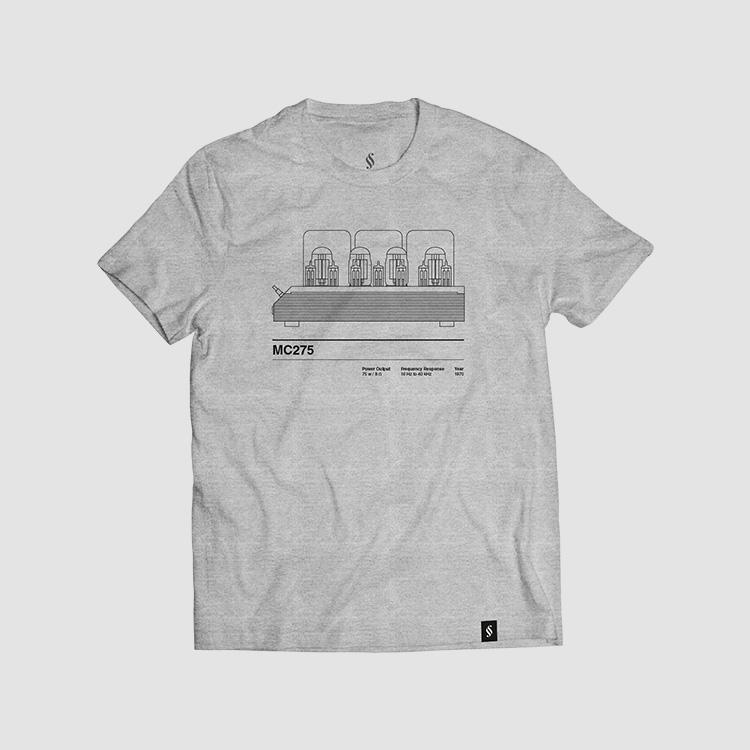 Camiseta hombre talla M - MC275 gris